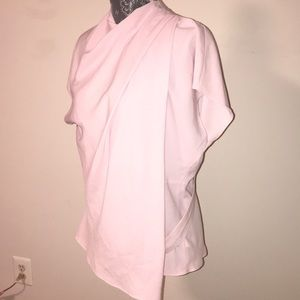 Topshop pink blouse size 12 brand new